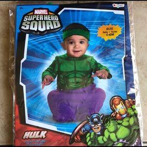 Infant hulk costume